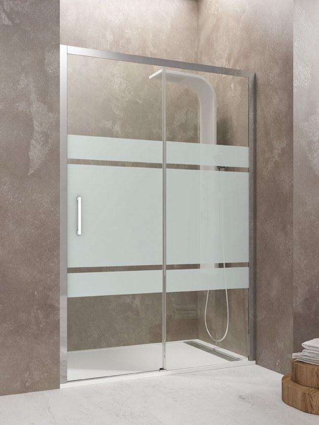 Mamparas de ducha sin perfilería inferior modelo Aktual