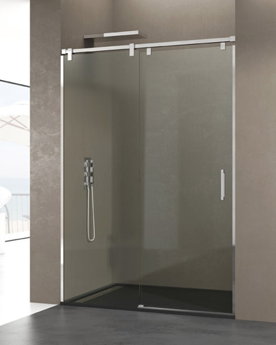 Mampara baera corredera trendy mampara de ducha corredera - Mamparas ducha correderas ...